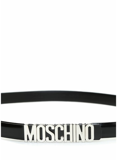 Moschino Kemer Siyah